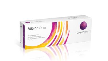Apresentamos as lentes de contacto MiSight(R) de 1 dia com tecnologia ActivControl(R